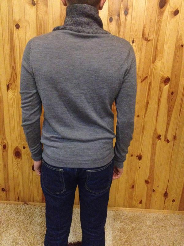 Шикарный  мужской  свитер  ,бренд   milano italia -  antony mo... - Фото 2