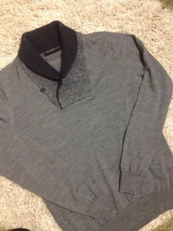 Шикарный  мужской  свитер  ,бренд   milano italia -  antony mo... - Фото 3