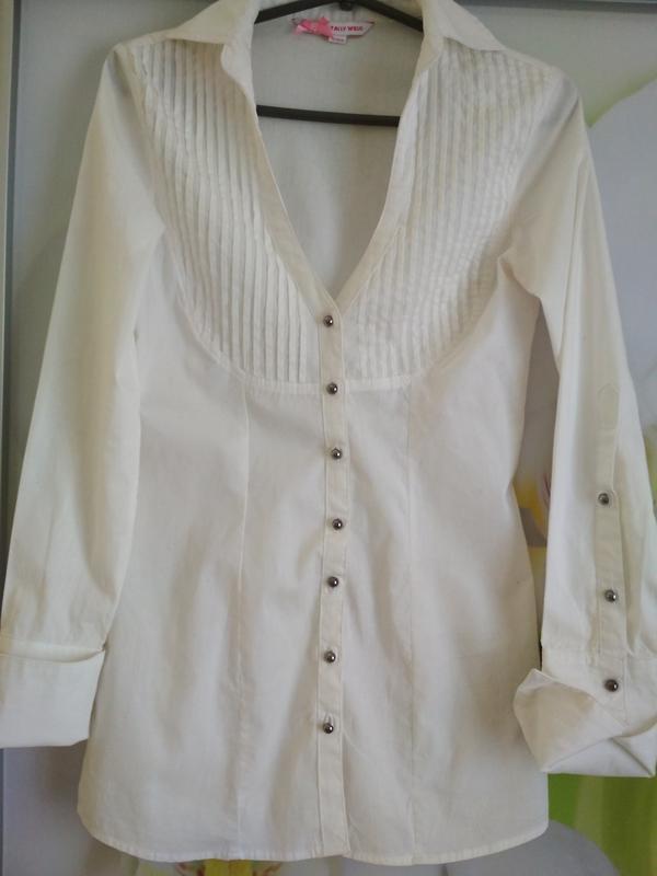 Рубашка блузка туника, новая ,р. 6-8 - Фото 4