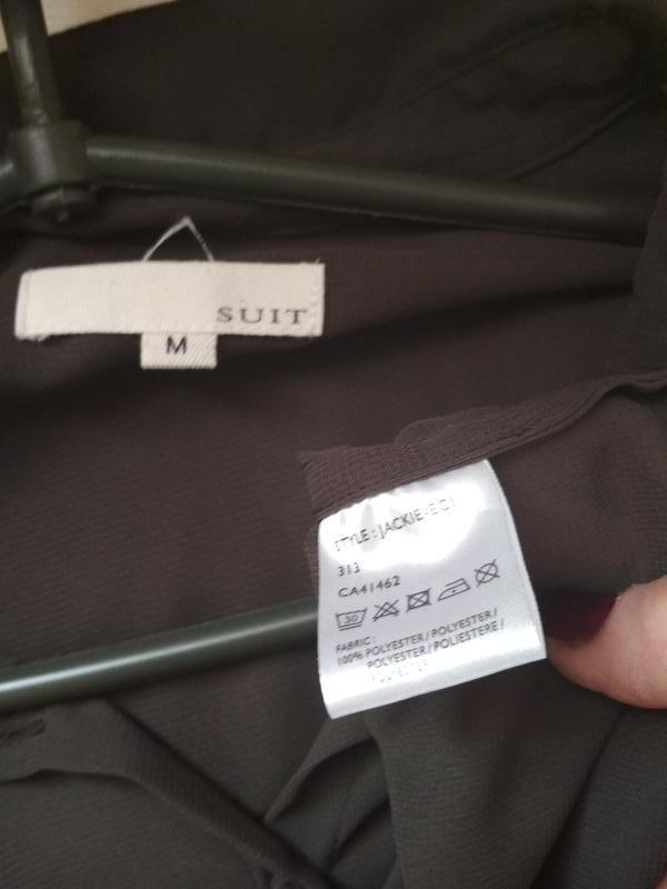 Шифоновая блуза,темно коричневый цвет,suit, p.m-l - Фото 3