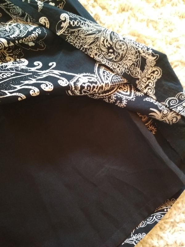 Красивая юбка миди ,катон очень нежный, in linea р36/38 - Фото 4