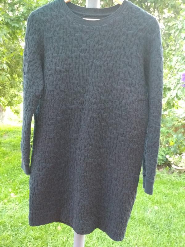 Стильное платье,теплое, cos, p. 12-14 - Фото 2
