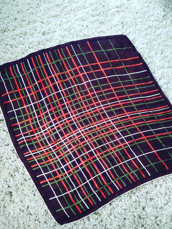 Шелковый платок, 65*67
