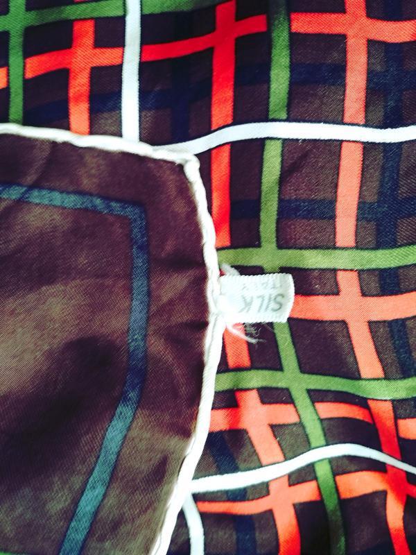 Шелковый платок, 65*67 - Фото 2