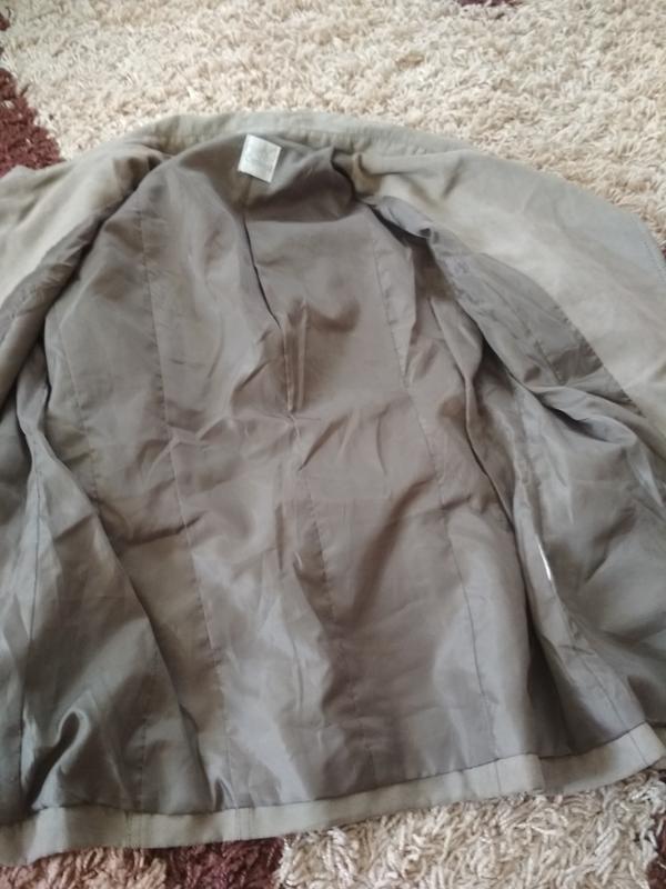 Стильная куртка ветровка косуха, екозамш,camaieu, p. 38/40 - Фото 2