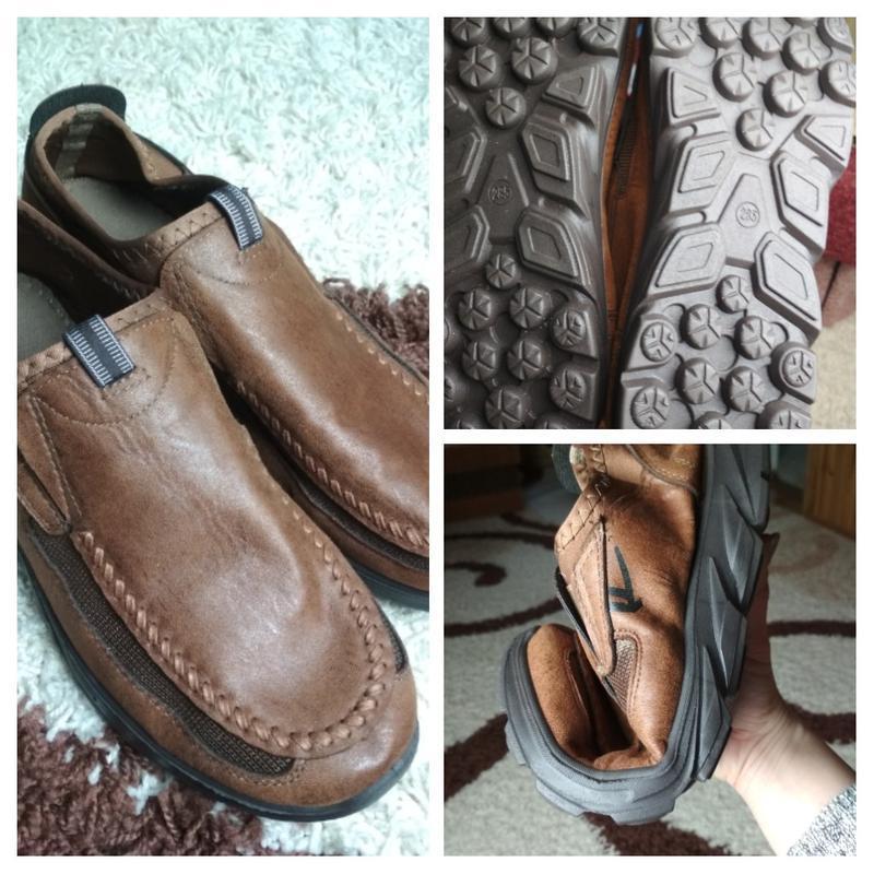 Очень комфортные мужские туфли, р. 44-45