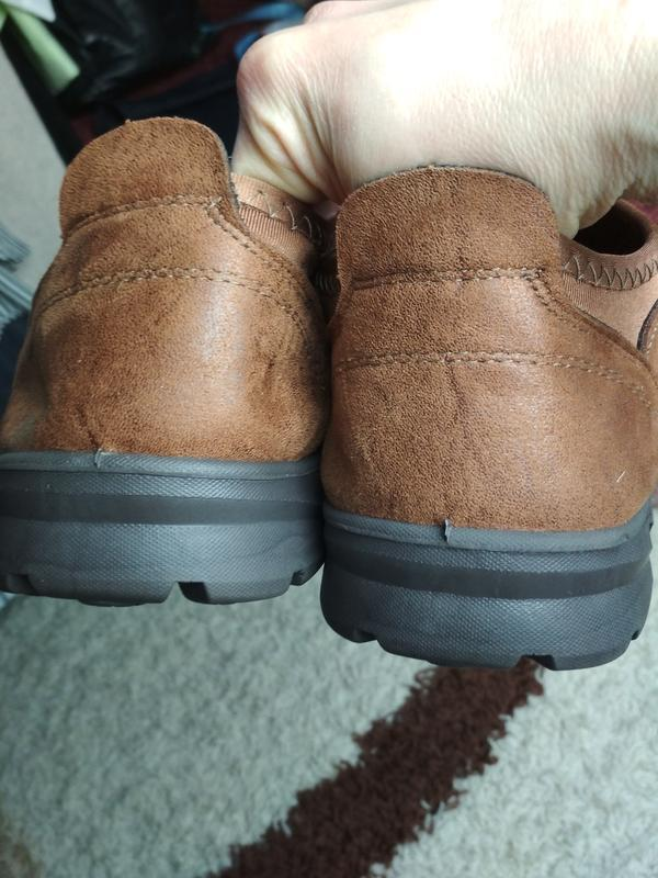 Очень комфортные мужские туфли, р. 44-45 - Фото 6
