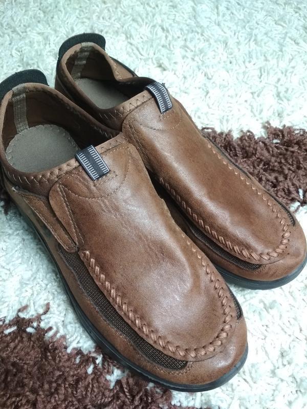 Очень комфортные мужские туфли, р. 44-45 - Фото 8