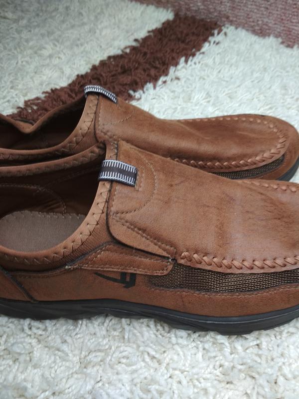 Очень комфортные мужские туфли, р. 44-45 - Фото 9