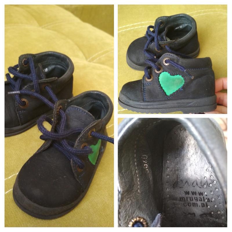 Актуальные лёгкие ботиночки для малыша,кожа, mrugate, p. 20