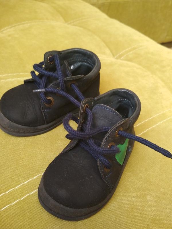 Актуальные лёгкие ботиночки для малыша,кожа, mrugate, p. 20 - Фото 4