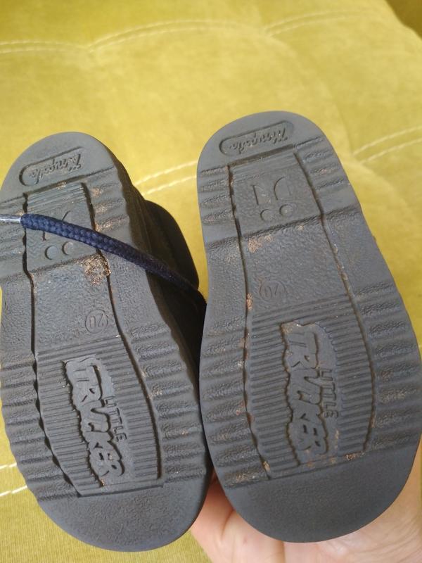 Актуальные лёгкие ботиночки для малыша,кожа, mrugate, p. 20 - Фото 7