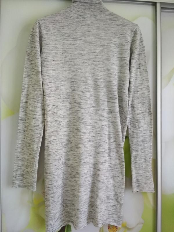 Стильный свитер,гольф, водолазка, туника, zara knit, p. 8-10 - Фото 6