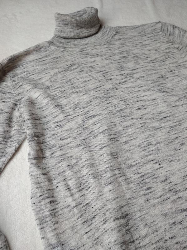 Стильный свитер,гольф, водолазка, туника, zara knit, p. 8-10 - Фото 10