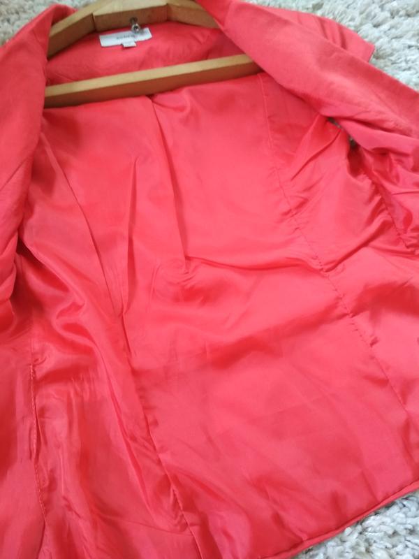 Актуальный жакет пиджак без рукавов, zebra, p. xs - Фото 3