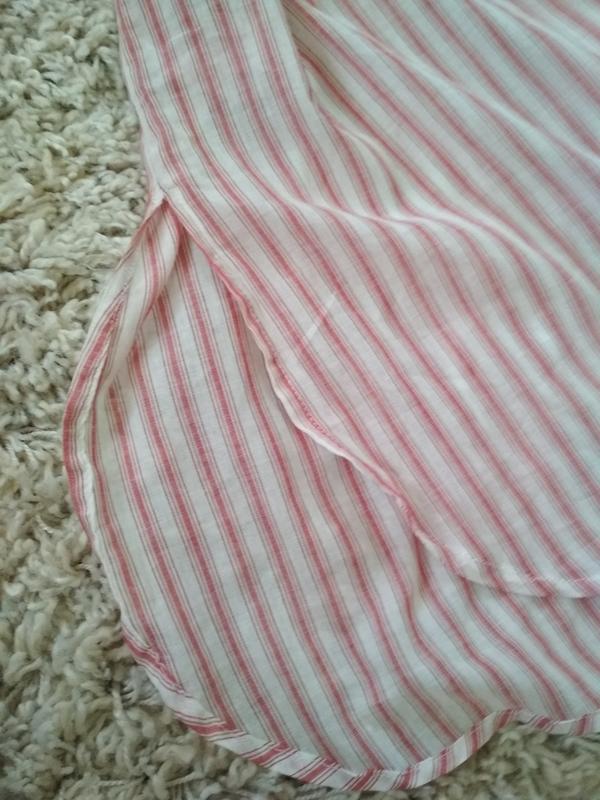 Мега комфортное стильное платье рубашка в полоску, zara, p. m - Фото 6