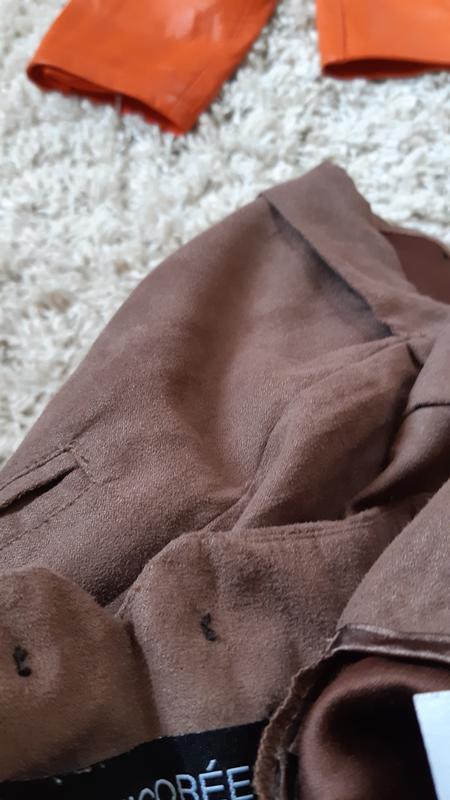 Стильные замшевые шорты с высокой посадкой,chicoree, p. m-l - Фото 2