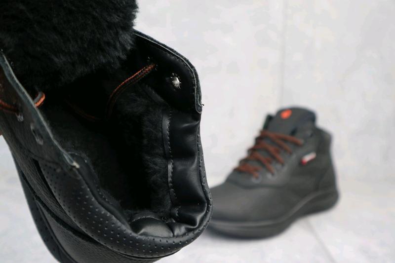 Мужские кроссовки кожаные зимние - Фото 6