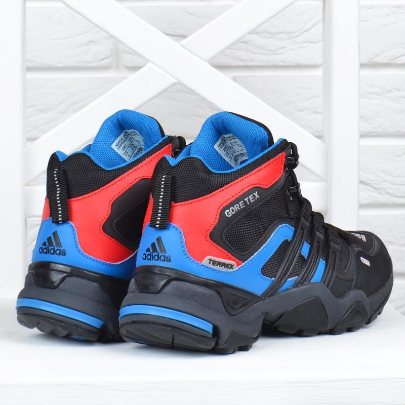 Термо кроссовки женские кожаные adidas gore tex terrex мембран... - Фото 3