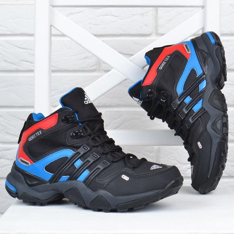 Термо кроссовки женские кожаные adidas gore tex terrex мембран... - Фото 7