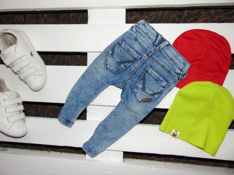 Завужені джинси name it ріст 80 - Фото 2