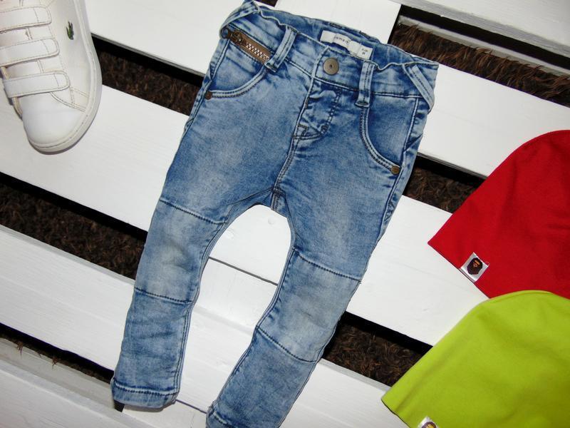 Завужені джинси name it ріст 80 - Фото 3