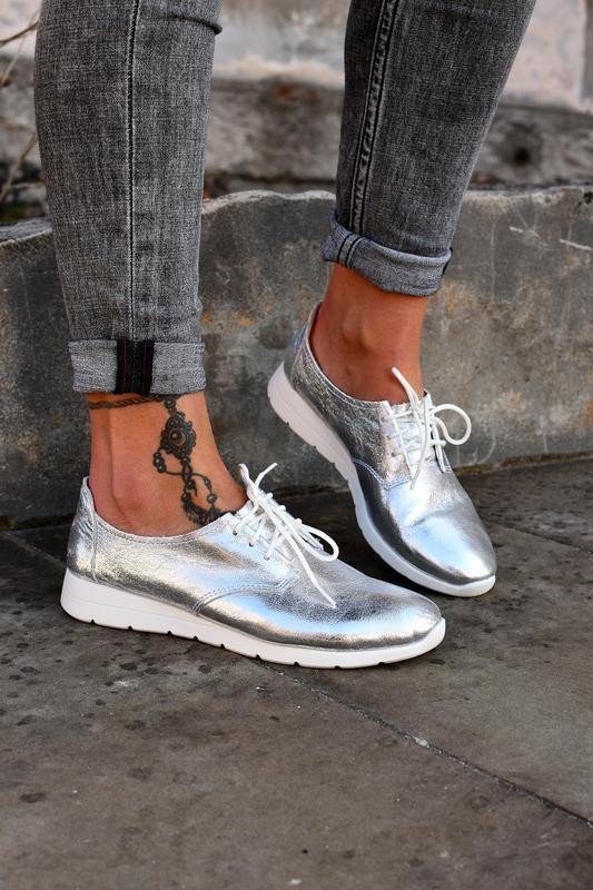Туфли на шнуровку натуральная кожа - Фото 2