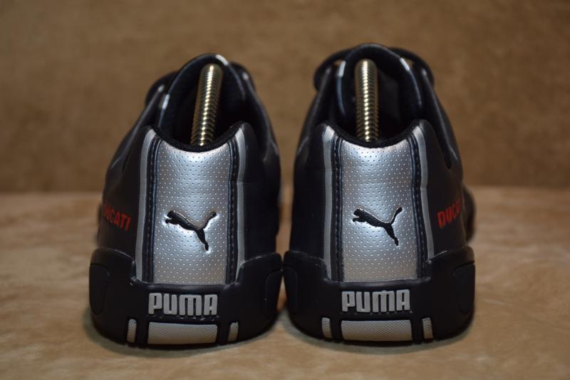 Кроссовки puma ducati borgo leather. оригинал. 37 р. / 23.5 см. - Фото 3