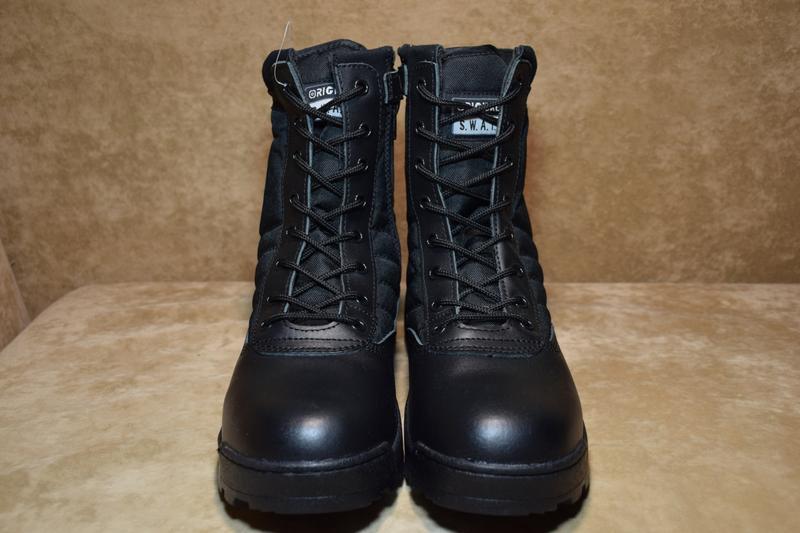 Ботинки берцы original swat classic 9 leather tactical. оригин... - Фото 2