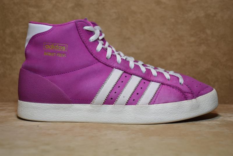 Высокие кроссовки кеды adidas originals basket profi. индонези...