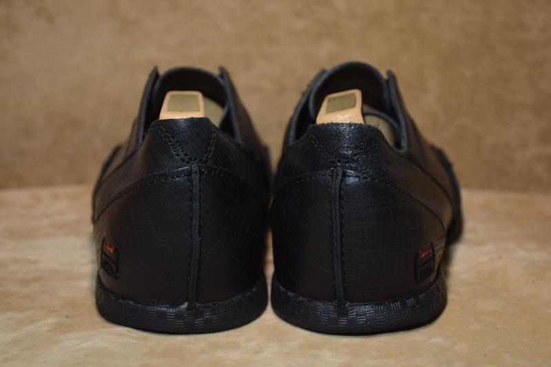 Мужские туфли hub кожаные. оригинал. 41 р./26 см. - Фото 3