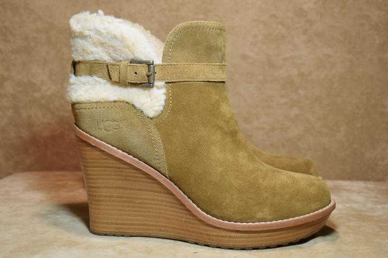 Ботильоны ugg australia anais ботинки зимние овчина. оригинал....