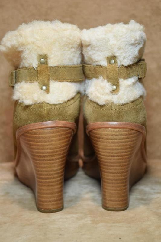 Ботильоны ugg australia anais ботинки зимние овчина. оригинал.... - Фото 3
