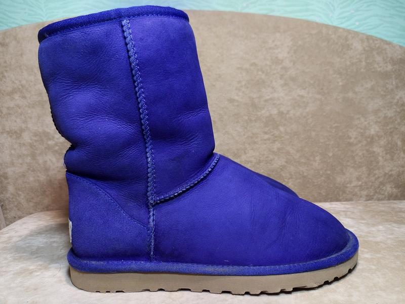 Угги ugg australia 5825 classic short ботинки сапоги зимние ов...