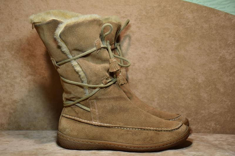 Сапоги ботинки угги camper contact earth зимние. испания. ориг...