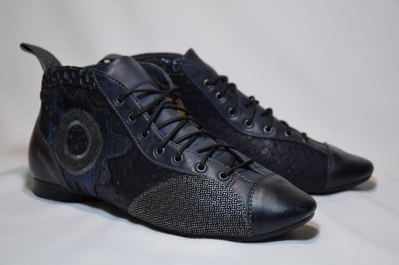 Ботинки ботильоны think guad кожаные. австрия. оригинал. 37-38... - Фото 2