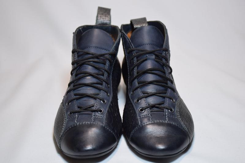 Ботинки ботильоны think guad кожаные. австрия. оригинал. 37-38... - Фото 3