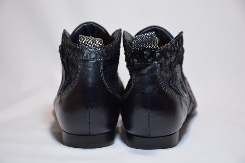 Ботинки ботильоны think guad кожаные. австрия. оригинал. 37-38... - Фото 4