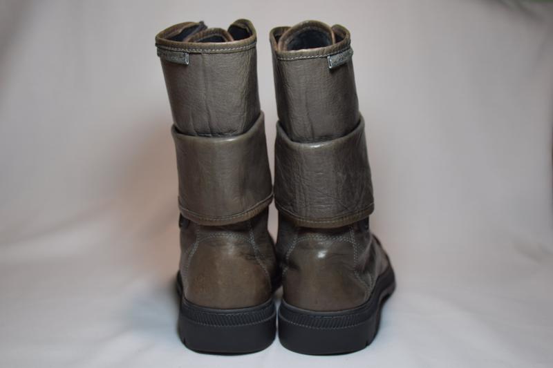 Высокие кроссовки кеды кожаные pataugas. португалия. оригинал. - Фото 4