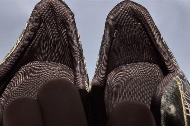 Кроссовки nike rival shox gold кожаные. оригинал. 44 р./ 28.5 см. - Фото 5