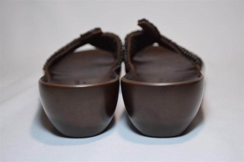 Шлёпанцы robert clergerie paris beaded босоножки сандалии фран... - Фото 5