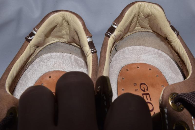 Кроссовки туфли geox respira. оригинал. 45 р./30 см. - Фото 6