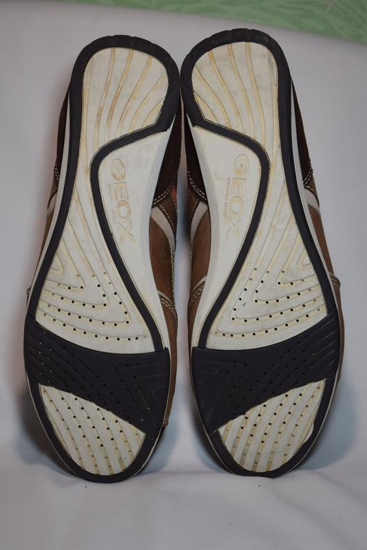 Кроссовки туфли geox respira. оригинал. 45 р./30 см. - Фото 7