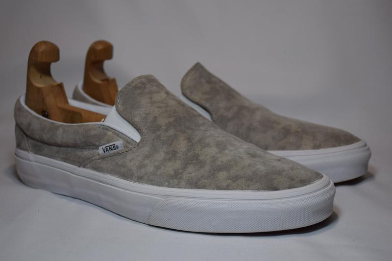 Мокасины слипоны vans classic slip-on suede кеды кроссовки. ор... - Фото 2