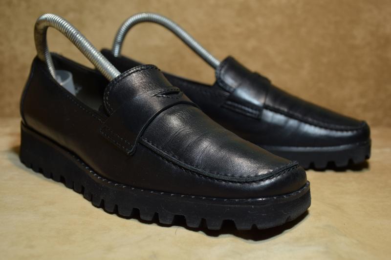Туфли мокасины kennel schmenger k&s vibram женские кожаные гер... - Фото 2