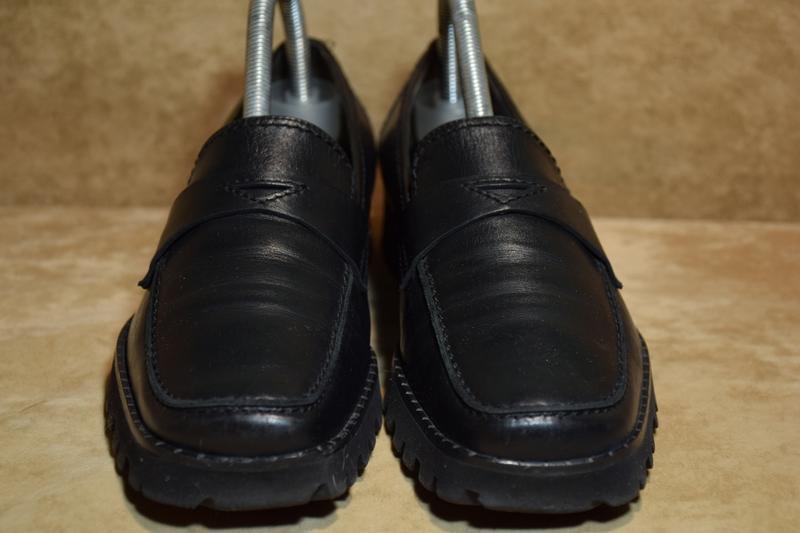 Туфли мокасины kennel schmenger k&s vibram женские кожаные гер... - Фото 3