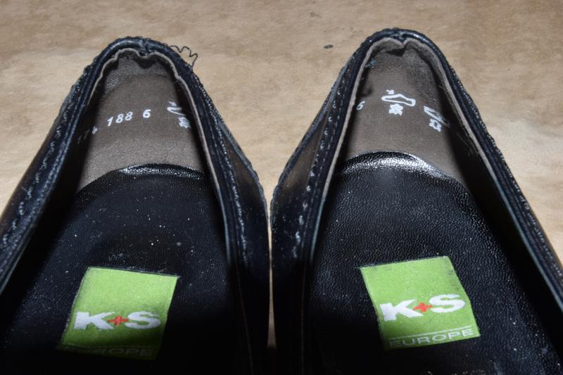 Туфли мокасины kennel schmenger k&s vibram женские кожаные гер... - Фото 5
