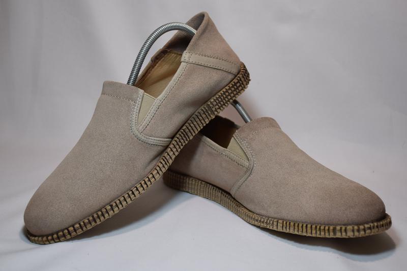 Мокасины слипоны mjus rbl slip on/ airstep туфли кожаные итали...