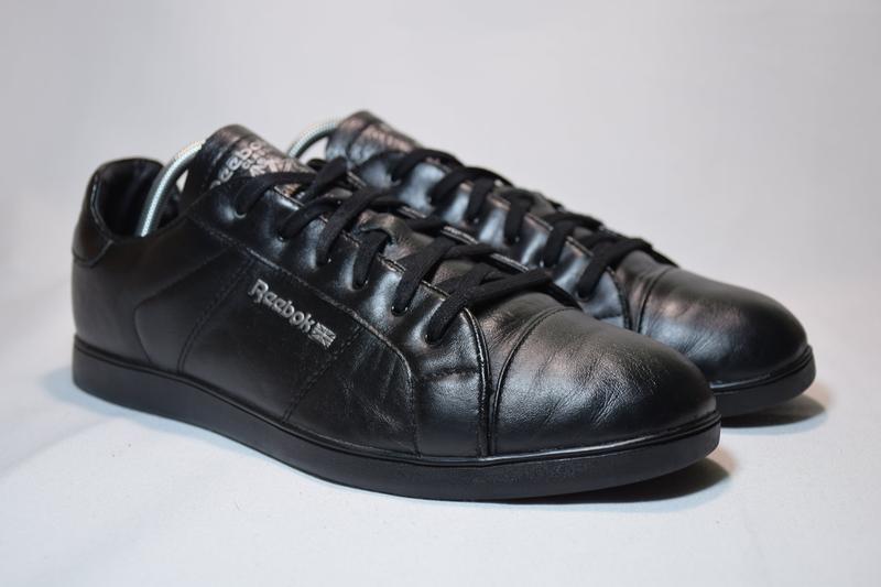 Кроссовки reebok classic кожаные. оригинал. 41 р./26.5 см. - Фото 3