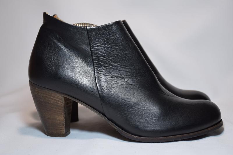 Ботинки ботильоны gidigio женские кожаные. италия. оригинал. 3...